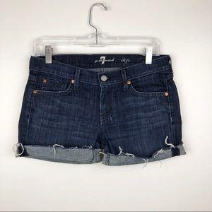 7 For All Mankind Dojo Jean Shorts